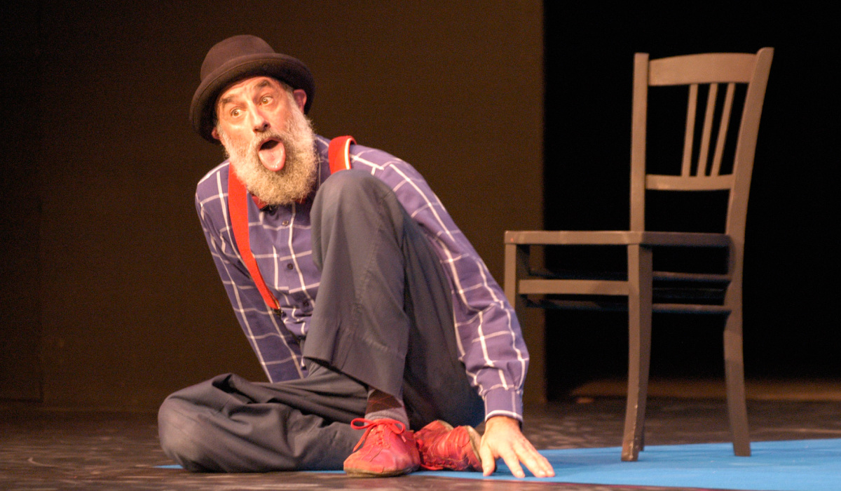 Human Library: Avner Eisenberg (US) Comedian and Magician