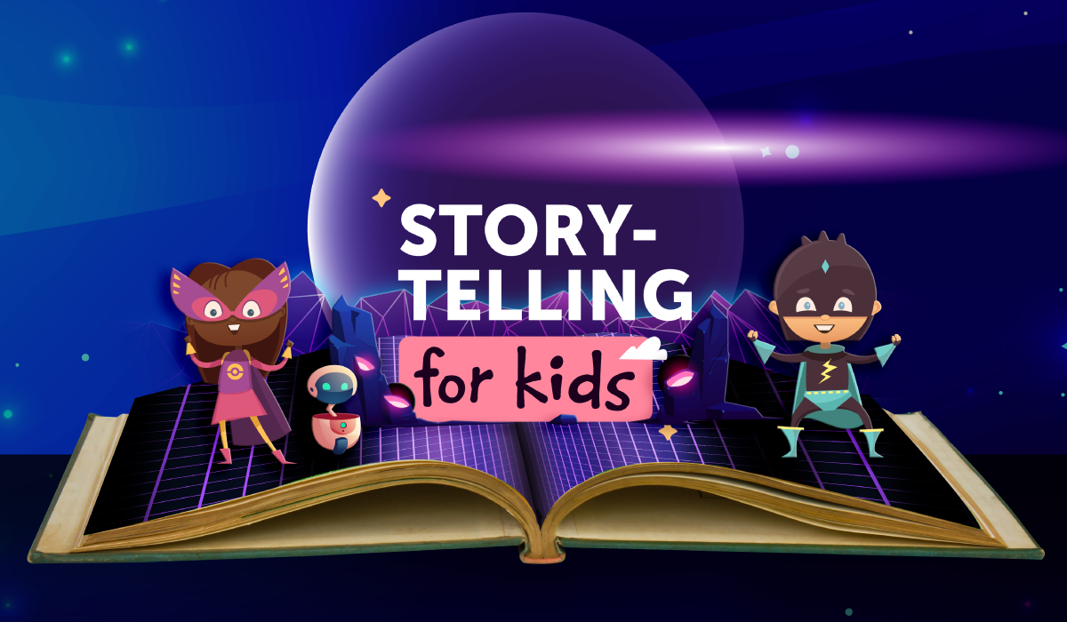Storytelling for Kids: The Savvy Cyber Kids at Home