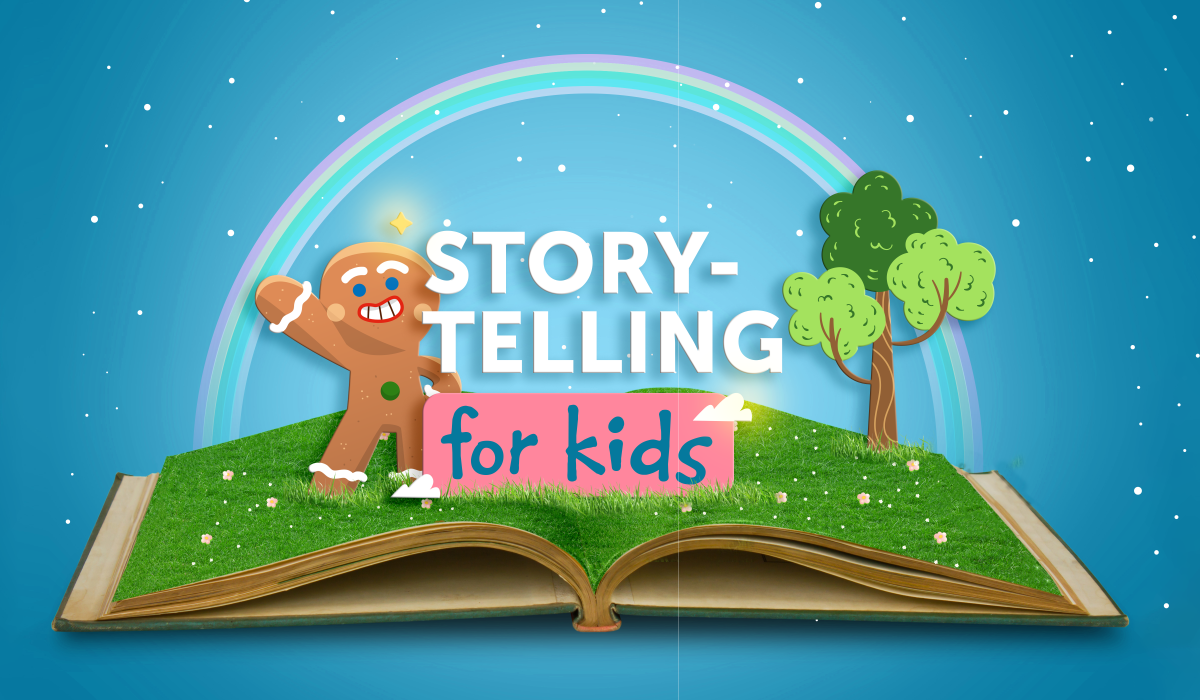 Storytelling for Kids: The Gingerbread Man