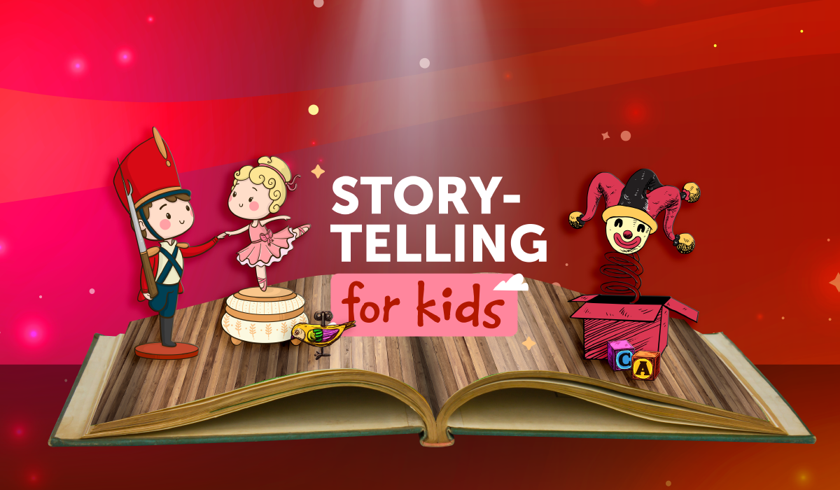 Storytelling for Kids: The tin soldier