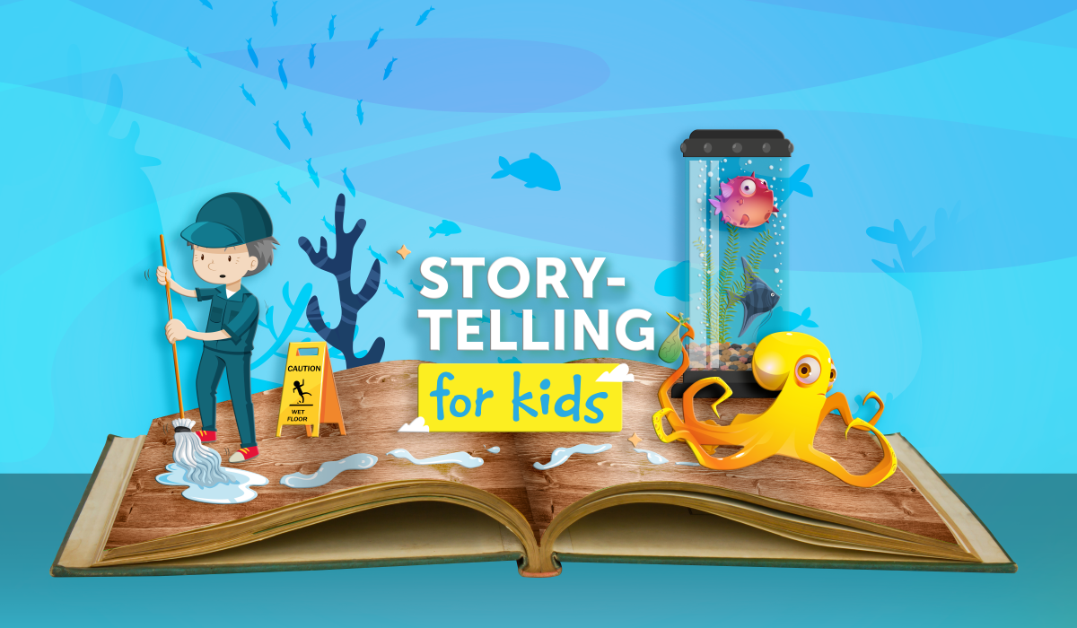 Storytelling for kids: Inky the Octopus: Bound for Glory