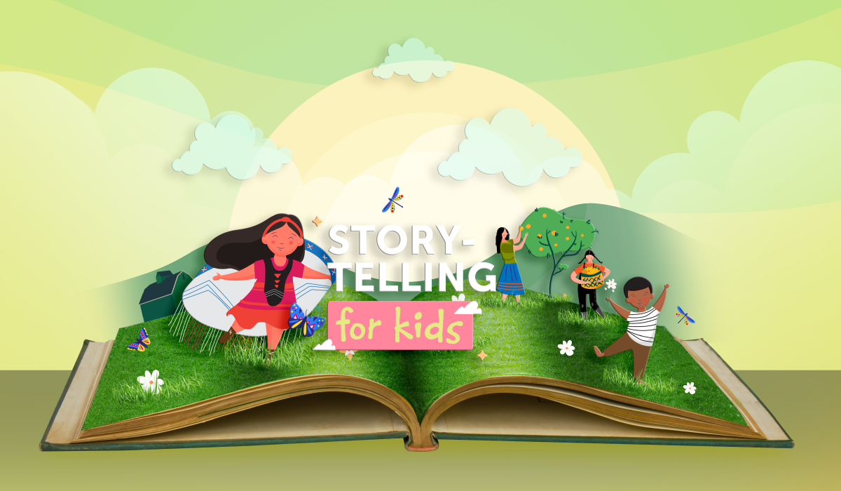 Storytelling for Kids: My Heart Fills with Happiness