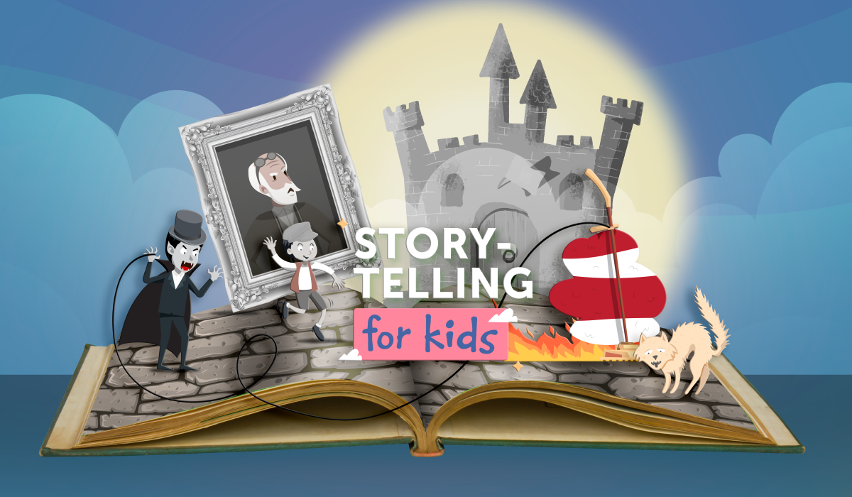 Storytelling for kids: Schnitzel: A Cautionary Tale for Lazy Louts