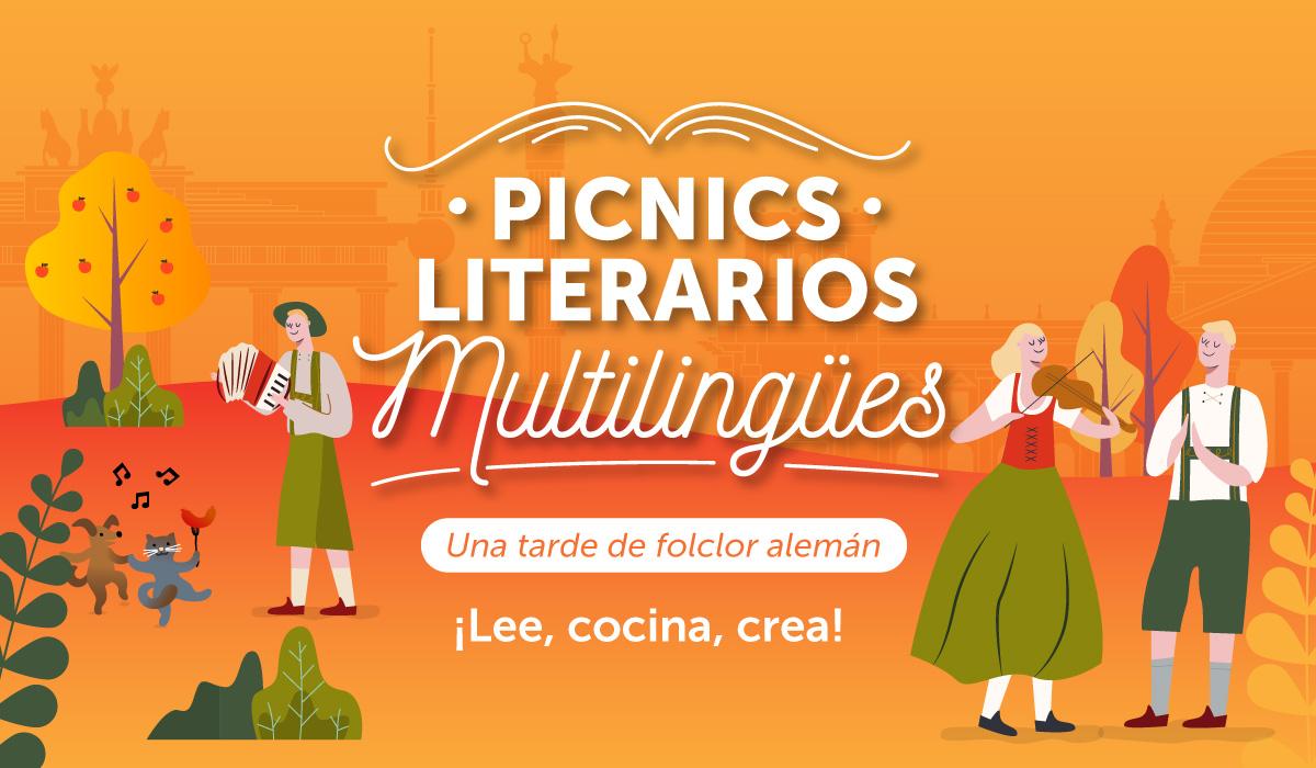 Picnic Literario Multilingüe: una tarde de folclor alemán