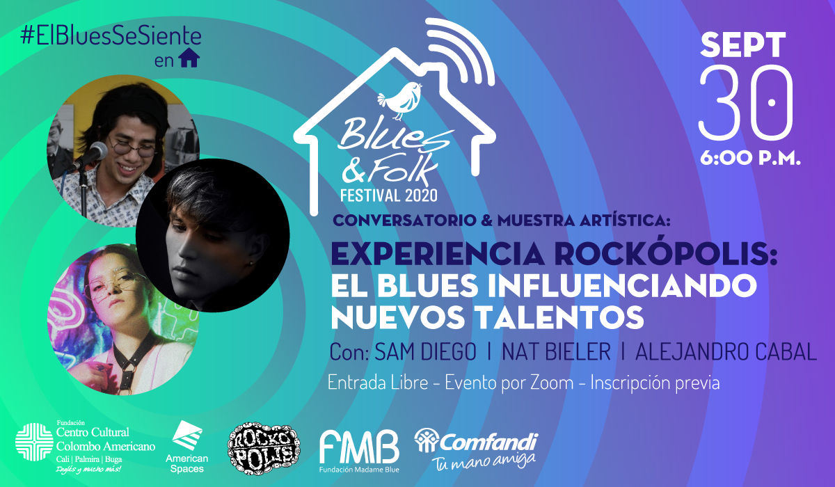 Conversatorio y muestra artística: Experiencia Rockópolis: El Blues influenciando nuevos talentos