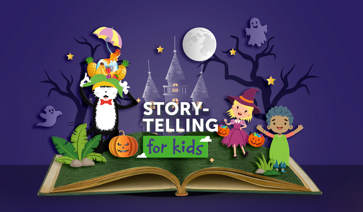 Storytelling For Kids: Trick or Treat!