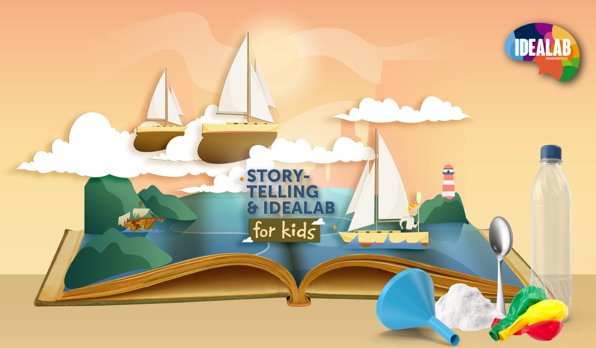 Storytelling & IdeaLab for Kids: The Wrek of The Zephyr