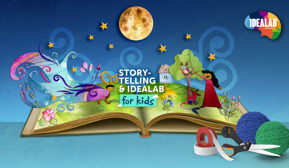 Storytelling & IdeaLab For Kids: From the Stars in the Sky to the Fish in the Sea